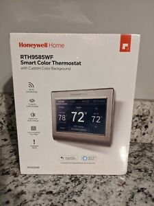 Honeywell RTH9585WF1004W WiFi Smart Color 7 Day, Touch,Alexa Ready