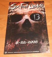 Six Feet Under 13 Poster Original 2005 Promo 18x12
