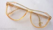 ZEISS Acetat XL Damen Brille Kunststoff 70er Vintage NEU rosa nude blau size L