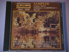 Crescendo Sampler 3 Zydeco,Karibik,Blues: Queen Ida ,Clifton Chenier,J Mayall