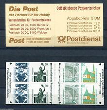 Bund MH 27 postfrisch BRD 1531 - 1534 SWK Selbstklebende Markenheftchen MNH