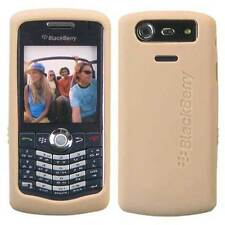 OEM Blackberry PEARL Pale Gold Silicon Skin Case for 8110 8120 8130 NEW Genuine