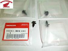 GENUINE HONDA BODY SCREW CLIP PIN   (4) 90683-MBW-003