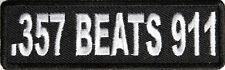 357 BEATS 911 - IRON ON PATCH