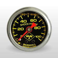 LT1 LS1 TPI Mechanical Fuel Pressure Gauge Liquid Filled 100 PSI YELLOW LETTERS