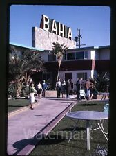1963  Kodachrome photo slide Hotel Bahia  Mexico  Ensenada #1