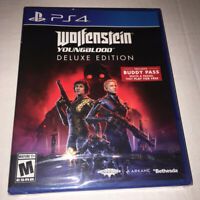 Wolfenstein Youngblood Deluxe Edition PS4 Sony PlayStation 4 Brand New 1E