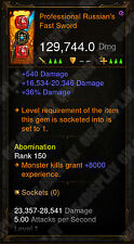 Diablo 3 RoS XBOX ONE - [SOFTCORE] New 2.6 - Modded Sword - Check Image!