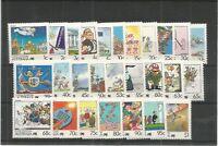 AUSTRALIA 1988 LIVING TOGETHER SG,1111-1136 U/MINT LOT 7604A