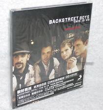 Backstreet Boys This Is Us Tour Edition Taiwan Ltd CD+DVD w/BOX