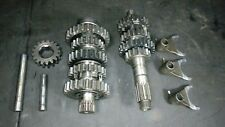 1993 Honda CR250R CR250 CR 250 Transmission Shafts Gears shift Forks shaft