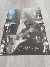 RORY GALLAGHER poster 42 x 29,7 cm / SKUNK ANASIE poster 42 x 29,7 cm