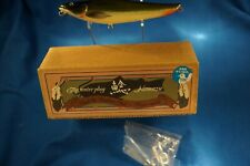 "VINTAGE LUNKER CLUB REDTAIL CATFISH MINT IN THE BOX 5 1/2"" LONG 1 OZ. ! !"