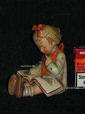 """Goebel Hummel 14/B """"Der Bücherwurm Mädchen"""", bookworm, Buchstütze, full bee"""