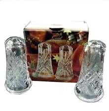 Cristal d'Arques, France Masquerade Salt & Pepper Shakers