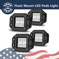 5inch 24W LED Work Light Car Flood Bar Off road Fog Lamp 4WD UTE ATV SUV Truck