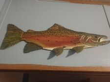 Fish Carving, For Sale, 2020 Steelhead-28 inch to ? Custom Carvings