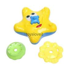 Floating Water Starfish Kids Children Bath Time Funny Water Spray Toy Yellow
