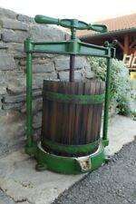 Obstpresse Edelstahlspindelpresse 3 L  Spindelpresse Beerenpresse Weinpresse
