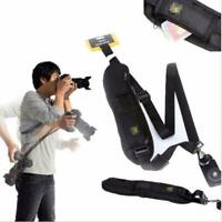 Camera Single Shoulder Belt Sling SLR DSLR Cameras Sony Canon Nikon L6A0