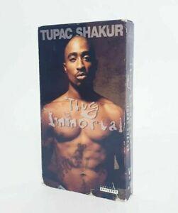 Tupac Shakur Thug Immortal VHS Video Vintage Movie 1997