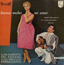 """LUIS ALBERTO DEL PARANA - Buenas Noches Mi Amor (1960 VINYL EP 7"""" HOLLAND)"""