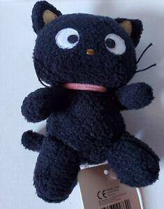 "Sanrio Hello Kitty Chococat Black Kitty Cat Plush Mini Bean Bag Toy Stuffed 6"""