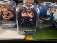 Marvel Mighty Muggs-Avengers - Black Panther,Captain America, Black Widow - New