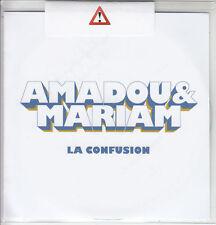 AMADOU & MARIAM La Confusion 2017 UK 12-trk numbered promo CD SEALED
