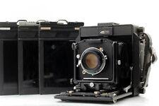 【EXC+++】 Horseman 45FA 4x5 Format w/ Super Topcor 150mm f5.6 Lens 3Holders JAPAN