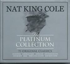 Nat King Cole - The Platinum Collection - Best Of / Greatest Hits 3CD NEW/SEALED