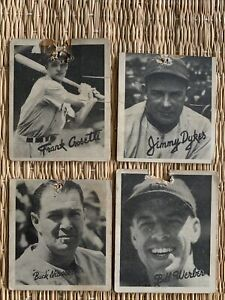 1936 GOUDEY lot of 4 FRANK CROSETTI Dykes Newsom Werber