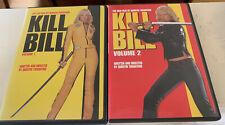 Kill Bill Vol 1 and Vol 2 dvd set