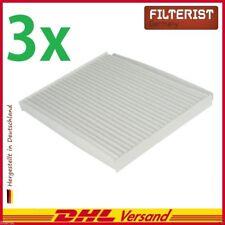 3x Filteristen PIRF-479-DE Innenraumfilter passt für Hyundai Tucson TLE