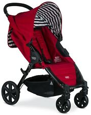 Britax Pathway Lightweight One Hand Fold  Single Baby Stroller Cabana NEW 2018