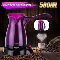 Foldable Electric Drip Coffee Maker Moka Pot Espresso Turkish Tea Milk Machine