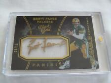 2016 Black Gold FB #SS-BF Brett Favre Packers SIZEABLE SIGS RELIC AUTO #/15 !!!
