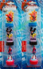 NEW! MARVEL SPIDER-MAN LASER CUT STAMPS 2 BACKS PARTY FAVOR  BAG FILLER