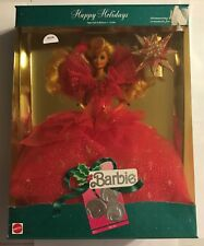1990 HAPPY HOLIDAY BARBIE - SPECIAL EDITION - BARBIE COLLECTIBLE    #3024