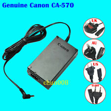 Genuine Canon CA-570 CA-570A/B/E/K/S Adapter for DC50 DC310 300D ZR60  HV10 ZR90
