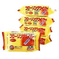 1X(30Pcs / Pack Disposable Bed Linen Floor Cleaning Wipes Electrostatic Mop W5K6