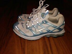 2004 Nike Shox 2:45 Zoom Air Ladies White & Blue size 8