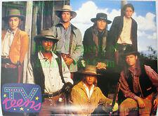1992 TV Teens Poster The Young Riders ☆ Josh Brolin ☆ Stephen Baldwin ☆ +Cast