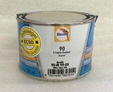 Glasurit 90-M 99/00 Pintura mezcla al agua Metálico plata super fino 0,5 Litro