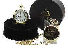 ARCTIC MONKEYS GOLD POCKET Watch Chain Luxury Gift Case Signed Cert Memorabilia
