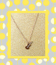 """CC20120 - Eye catching """"rose gold"""" pendant with giltar stainless steel pendent"""
