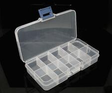 1 Boîte de rangement pour Perles Plastique 13x7x2.3cm