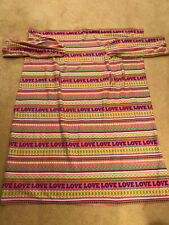 Snuggie Love Blanket Fleece Throw w/Pockets Pink Hearts