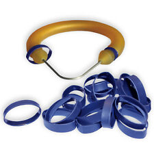 "50 medium (1/2""-5/8"" band) Shrink Rings to cover speargun band constrictor cord"