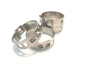 1 Ohr Einohrschelle Schellen Stahl verzinkt  Ohrklemmen Schellen Schlauchschelle